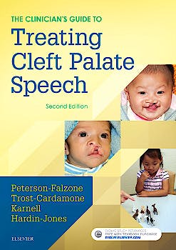 Portada del libro 9780323339346 The Clinician's Guide to Treating Cleft Palate Speech