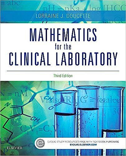 Portada del libro 9780323339964 Mathematics for the Clinical Laboratory