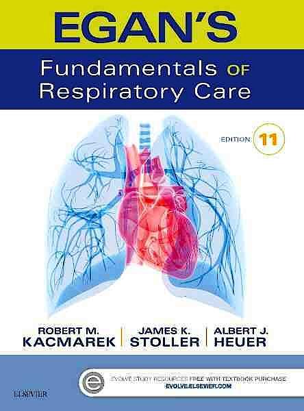 Portada del libro 9780323341363 Egan's Fundamentals of Respiratory Care