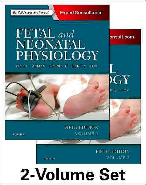 Portada del libro 9780323352147 Fetal and Neonatal Physiology, 2 Vols. (Online and Print)