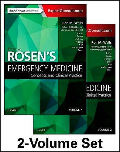 Portada del libro 9780323354790 Rosen's Emergency Medicine. Concepts and Clinical Practice, 2 Vols. (Online and Print)