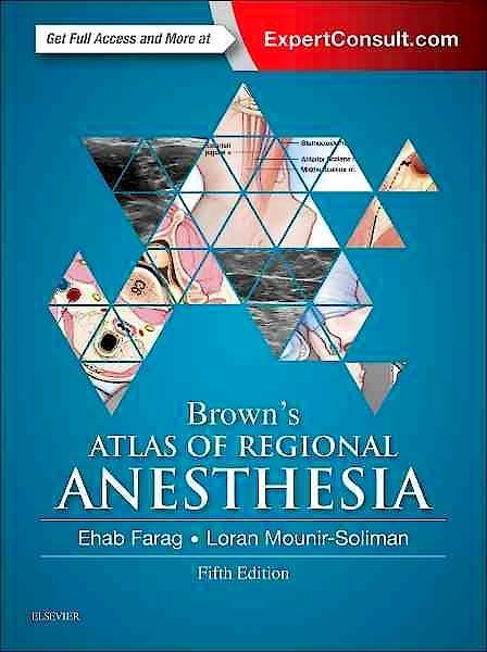 Portada del libro 9780323354905 Brown's Atlas of Regional Anesthesia