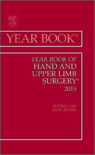 Portada del libro 9780323355452 Year Book of Hand and Upper Limb Surgery 2015
