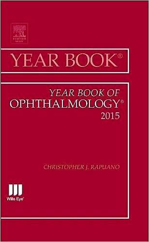 Portada del libro 9780323355483 Year Book of Ophthalmology 2015