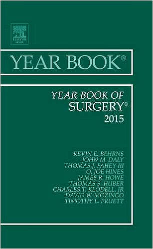 Portada del libro 9780323355544 Year Book of Surgery 2015