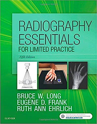 Portada del libro 9780323356237 Radiography Essentials for Limited Practice