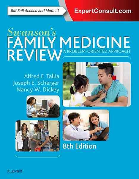 Portada del libro 9780323356329 Swanson's Family Medicine Review (Online and Print)