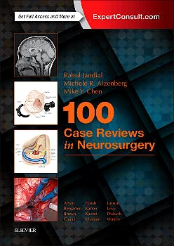 Portada del libro 9780323356374 100 Case Reviews in Neurosurgery (Online and Print)