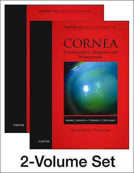 Portada del libro 9780323357579 Cornea, 2 Vols. (Online and Print)