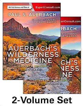 Portada del libro 9780323359429 Auerbach's Wilderness Medicine, 2 Vols.