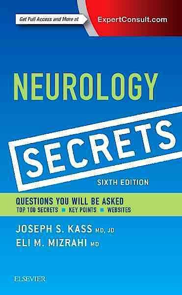 Portada del libro 9780323359481 Neurology Secrets (Online and Print)