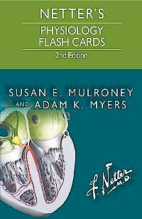 Portada del libro 9780323359542 Netter's Physiology Flash Cards