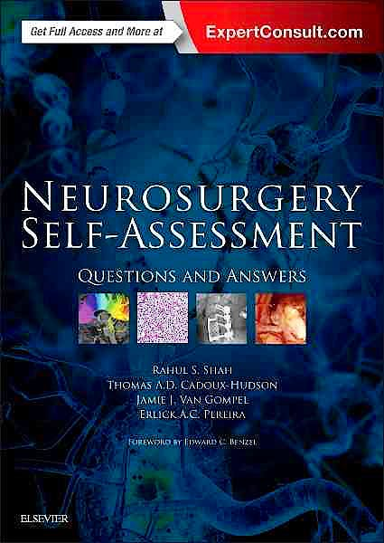 Portada del libro 9780323374804 Neurosurgery Self-Assessment. Questions and Answers (Online and Print)