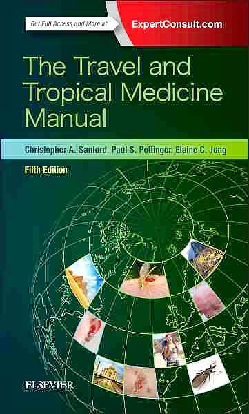 Portada del libro 9780323375061 The Travel and Tropical Medicine Manual (Online and Print)
