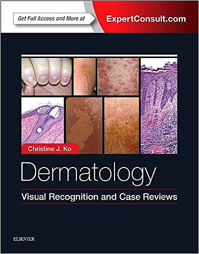 Portada del libro 9780323375313 Dermatology. Visual Recognition and Case Reviews (Online and Print)