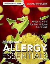 Portada del libro 9780323375795 Middleton's Allergy Essentials (Online and Print)