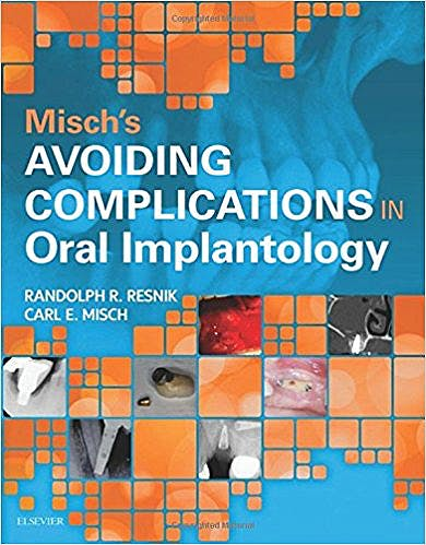 Portada del libro 9780323375801 Misch's Avoiding Complications in Oral Implantology