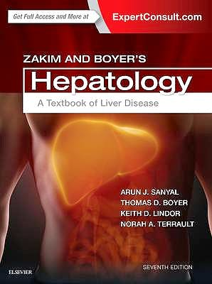 Portada del libro 9780323375917 Zakim and Boyer's Hepatology. a Textbook of Liver Disease (Online and Print)