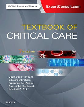 Portada del libro 9780323376389 Textbook of Critical Care