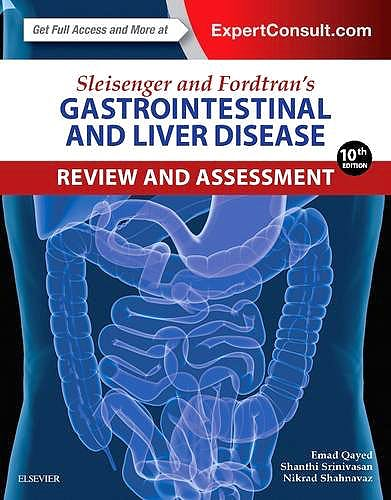 Portada del libro 9780323376396 Sleisenger and Fordtran's Gastrointestinal and Liver Disease. Review and Assessment (Online and Print)