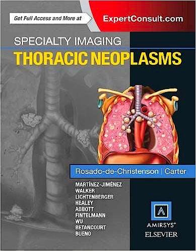 Portada del libro 9780323377065 Specialty Imaging. Thoracic Neoplasms