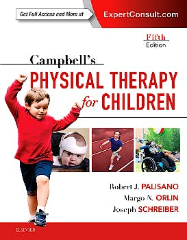 Portada del libro 9780323390187 Campbell's Physical Therapy for Children (Online and Print)