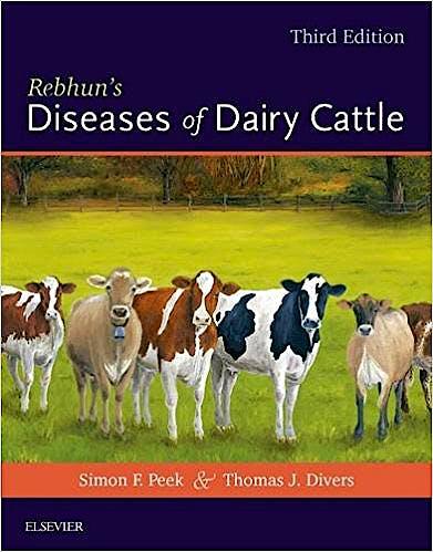 Portada del libro 9780323390552 Rebhun's Diseases of Dairy Cattle