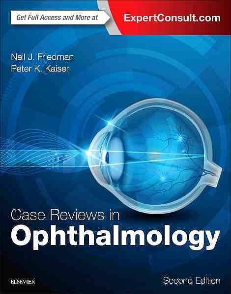 Portada del libro 9780323390590 Case Reviews in Ophthalmology (Online and Print)