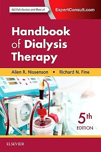 Portada del libro 9780323391542 Handbook of Dialysis Therapy (Print and Online)