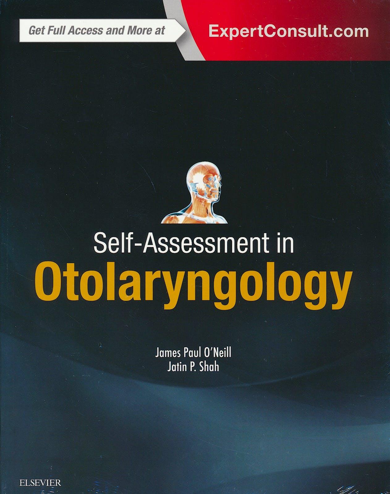 Portada del libro 9780323392907 Self-Assessment in Otolaryngology