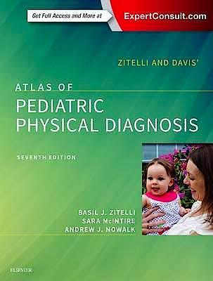 Portada del libro 9780323393034 Zitelli and Davis' Atlas of Pediatric Physical Diagnosis