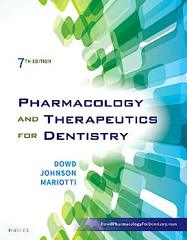 Portada del libro 9780323393072 Pharmacology and Therapeutics for Dentistry