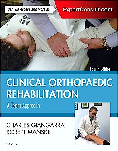 Portada del libro 9780323393706 Clinical Orthopaedic Rehabilitation. A Team Approach (Online and Print)