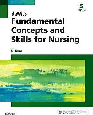 Portada del libro 9780323396219 Dewit's Fundamental Concepts and Skills for Nursing