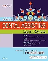 Portada del libro 9780323396301 Mosby's Dental Assisting Exam Review