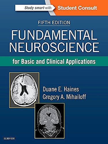 Portada del libro 9780323396325 Fundamental Neuroscience for Basic and Clinical Applications + Online Access
