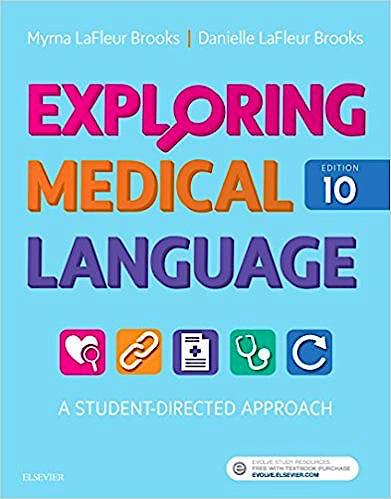 Portada del libro 9780323396455 Exploring Medical Language. a Student-Directed Approach
