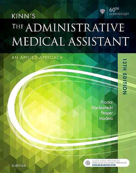 Portada del libro 9780323396721 Kinn's the Administrative Medical Assistant