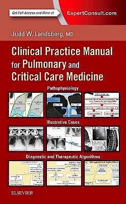 Portada del libro 9780323399524 Clinical Practice Manual for Pulmonary and Critical Care Medicine (Print and Online)