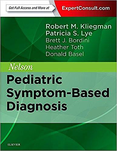 Portada del libro 9780323399562 Nelson Pediatric Symptom-Based Diagnosis (Online and Print)