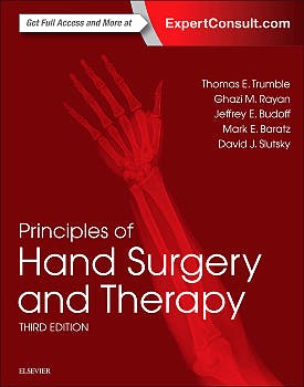 Portada del libro 9780323399753 Principles of Hand Surgery and Therapy
