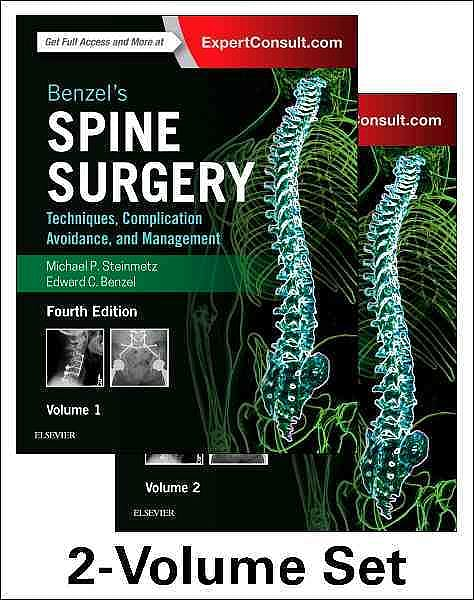 Portada del libro 9780323400305 Benzel's Spine Surgery. Techniques, Complication Avoidance and Management, 2 Vols. (Online and Print)
