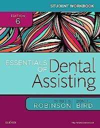 Portada del libro 9780323400657 Student Workbook for Essentials of Dental Assisting