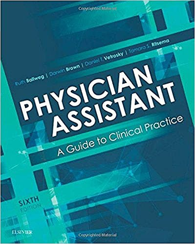 Portada del libro 9780323401128 Physician Assistant: A Guide to Clinical Practice