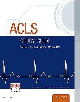 Portada del libro 9780323401142 Acls Study Guide