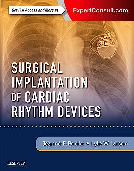 Portada del libro 9780323401265 Surgical Implantation of Cardiac Rhythm Devices (Online and Print)