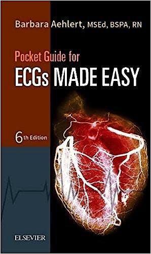 Portada del libro 9780323401296 Pocket Guide for ECGS Made Easy