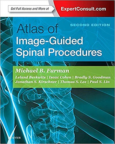 Portada del libro 9780323401531 Atlas of Image-Guided Spinal Procedures (Print and Online)