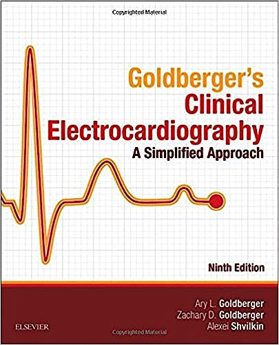 Portada del libro 9780323401692 Goldberger's Clinical Electrocardiography. A Simplified Approach (Print and Online)