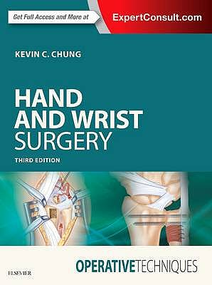Portada del libro 9780323401913 Hand and Wrist Surgery. Operative Techniques (Online and Print)